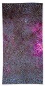 The Carina Nebula And Surrounding Bath Towel