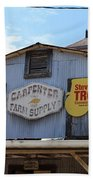 The Carpenter Farm Supply Bath Towel