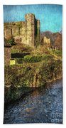 The Castle At Brecon Bath Towel
