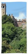 The Castle Of Camino Hand Towel