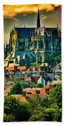 The Cathedral At Arundel Bath Towel
