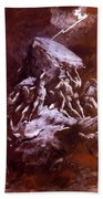 The Clash Of The Titans 1866 Bath Towel