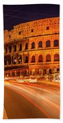 The Colosseum, Rome, Italy Bath Towel
