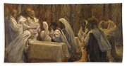 The Communion Of The Apostles Bath Towel