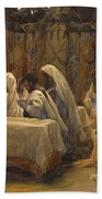The Communion Of The Apostles Hand Towel