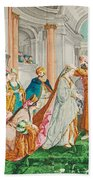 The Coronation Of Esther Bath Towel
