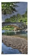 The Crabb Creek Bridge Bath Towel