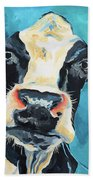 The Curious Cow Hand Towel