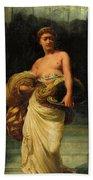 The Daughter Of Herodias, Salome Bath Towel