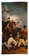 The Death Of General Mercer At The Bottle Of Princeton Bath Towel