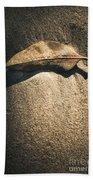 The Desert Burial Bath Towel