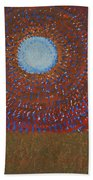 The Difficulty Of Crossing A Field Original Painting Bath Towel