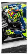 The Doctor At Assen Hand Towel