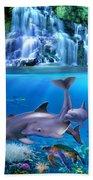 The Dolphin Family Bath Towel