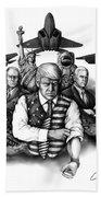 The Donald - Make America Great Again Hand Towel