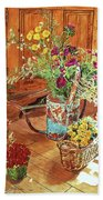 The Dried Flower Shop Hand Towel