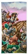 The Duke Of Monmouth At The Battle Of Sedgemoor Bath Towel