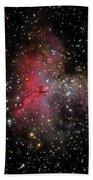 The Eagle Nebula And The Stellar Spire Bath Towel