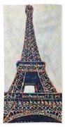 The Eiffel Tower Bath Towel