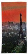 The Eiffel Tower Hand Towel