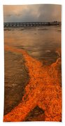 The Enchantment Of Grand Prismatic Spring Bath Towel