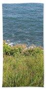 The End Of Long Island Bath Towel