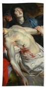 The Entombment Bath Towel