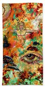 The Eye Of Art Bath Towel