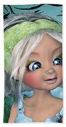 The Face Of Nicole Bath Towel