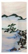 The Fading Spirit Of Chikanobu Awakened By Shintoism Bath Towel