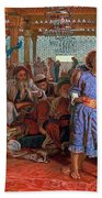 The Finding Of The Savior In The Temple Bath Towel