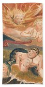 The First Book Of Urizen, Plate 22 Bath Towel