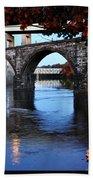 The Five Bridges - East Falls - Philadelphia Bath Towel