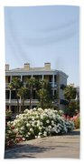 The Flowers At The Battery Charleston Sc Hand Towel