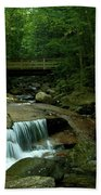 The Flume Gorge Trail Bath Towel