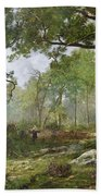 The Forest Of Fontainebleau Bath Towel