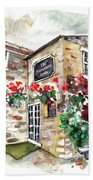 The Forresters Arms In Kilburn Bath Towel