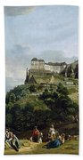 The Fortress Of Konigstein Bath Towel