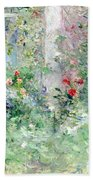 The Garden At Bougival Bath Towel