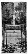 The Garden Gate Bath Towel