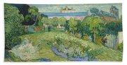 The Garden Of Daubigny Bath Towel