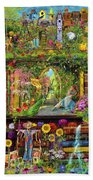 The Garden Shelf Bath Towel