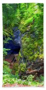 The Gorge In The Wood Hand Towel