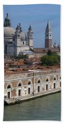 The Grand Canal In Venice  Bath Towel