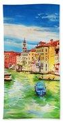 The Grand Canal Venice  Bath Towel