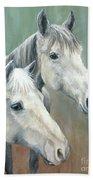 The Grays - Horses Hand Towel