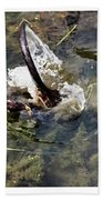 The Great Beaver Escape Triptych Bath Towel