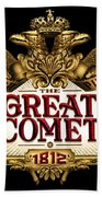 The Great Comet Bath Towel