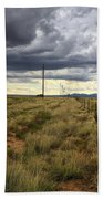 The Great Plains Of New Mexico Bath Towel