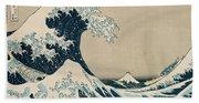 The Great Wave Of Kanagawa Bath Towel